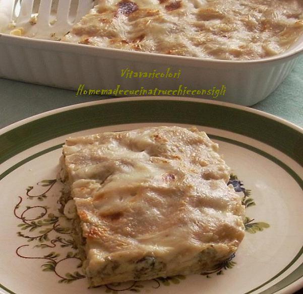 Lasagne+integrali+con+broccoli+e+mozzarella+filante