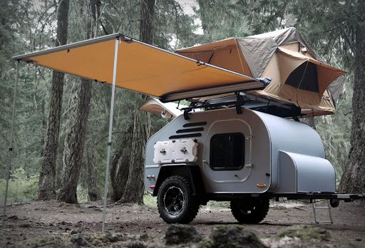 Terradrop Off-Road Trailer                                                                                                                                                                                 Más