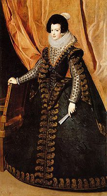 Elisabeth of France (1602 - 1644). Queen of Portugal from 1621 to 1640. She was married to Philip IV of Spain.