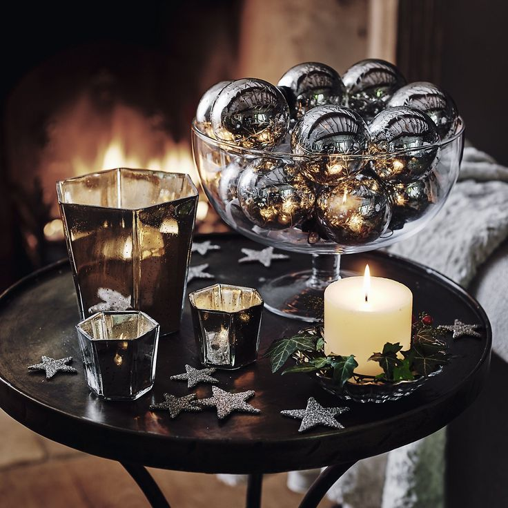 Hexagonal Hurricane | The White Company. Shopping from the US? -> http://us.thewhitecompany.com/Home-%26-Bath/Candle-Holders/Hexagonal-Hurricane/p/CAHHH?swatch=Silver