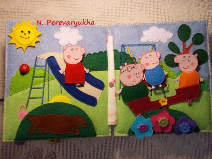 Книжка про свинку Пеппу - Рукоделие - Babyblog.ru