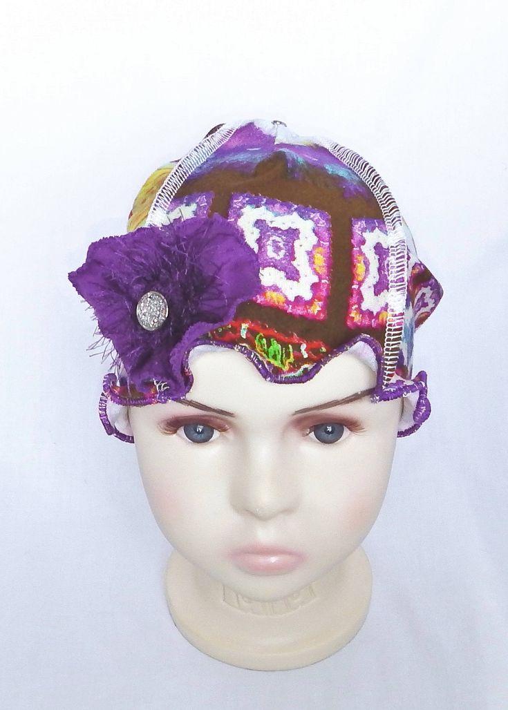 #Kids chemo beanies #chemo headwear #chemo hats #Chapeau chimio enfants #bonnet chimio #couvre tête chimio #béret de la boutique BleukaktusHats sur Etsy
