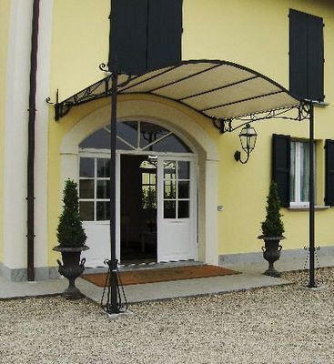 Italian Wrought Iron Awning