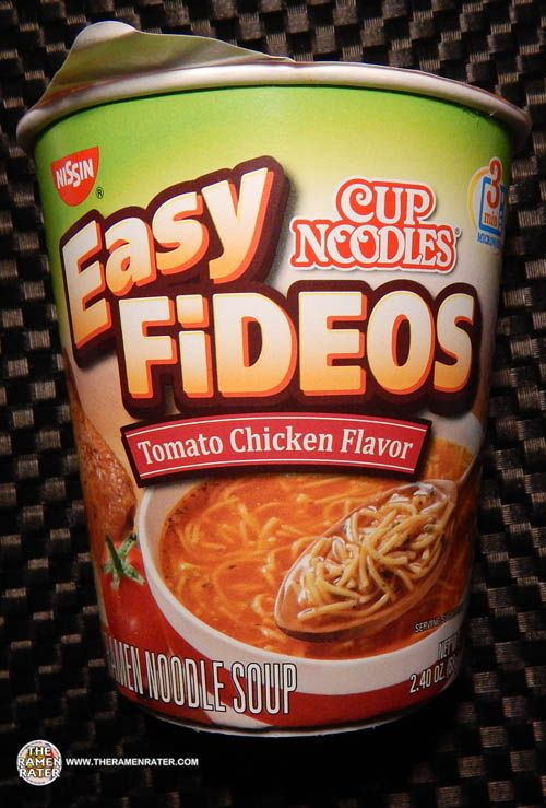 #1479: Nissin Cup Noodles Easy Fideos Tomato Chicken