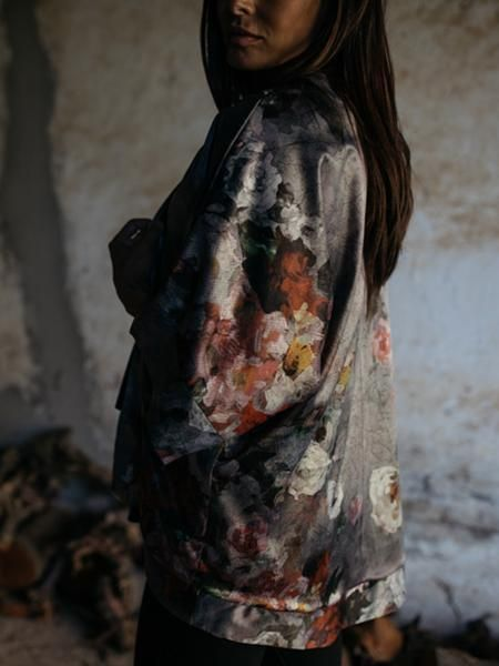 Satin kimono by FOUND. Collection www.foundcollection.co.za Proudly designed and made in South Africa