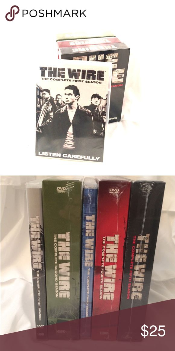 The Complete 5 Seasons of The Wire This Series looks at the narcotics scene in Baltimore through the eyes of law enforcement as well as the drug dealers and users. Great Series. Other