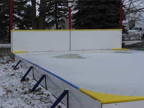 Your Own Backyard Skating Rink!