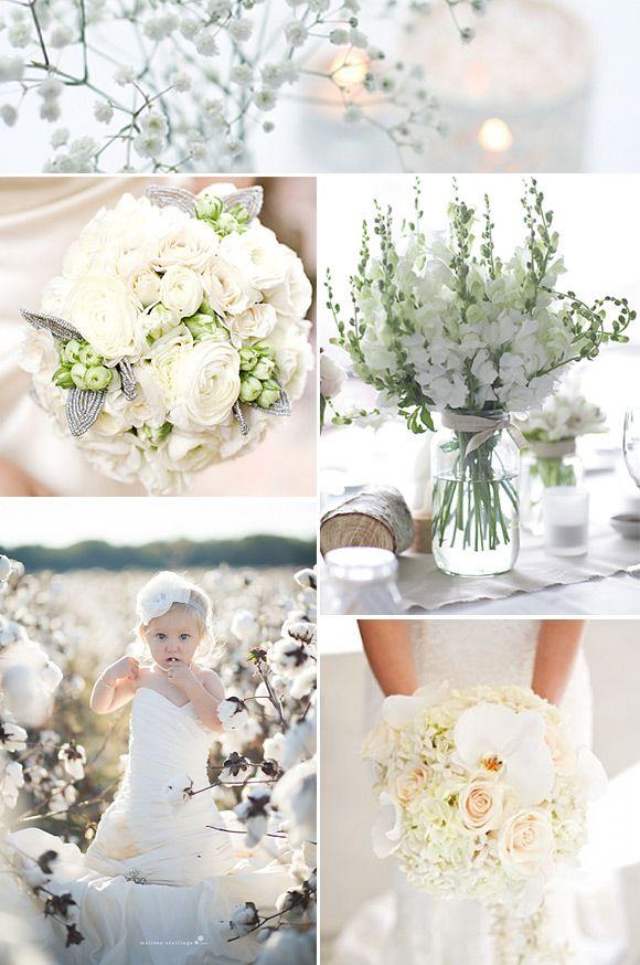 Bodas en blanco: para novias súper románticas