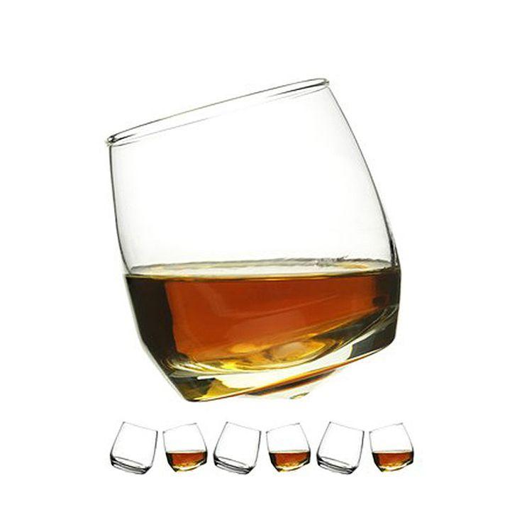 top3 by design - Sagaform - whiskey glass rocking set 6