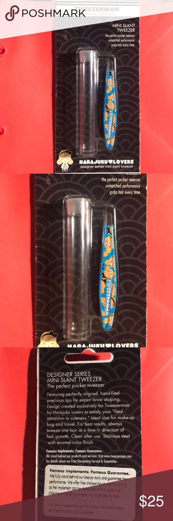 NWT Tweezerman Mini Slant Tweezer Harajuku NWT and never opened. Limited Edition…