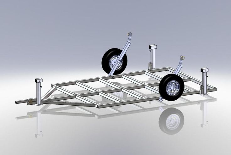 Ice house crank down axles pictures to pin on pinterest for Fish house drop down wheel kit