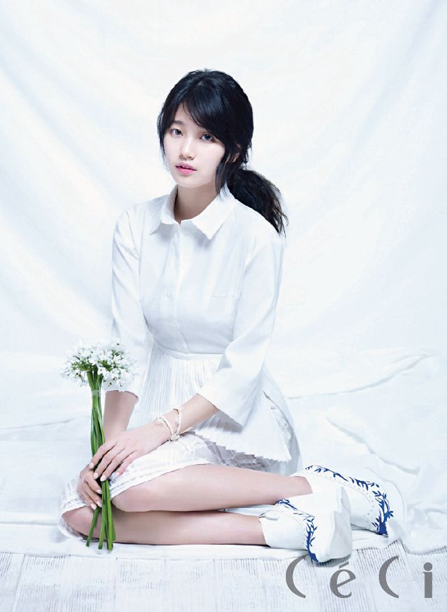 Suzy miss A Pretty CeCi Magazine April 2013