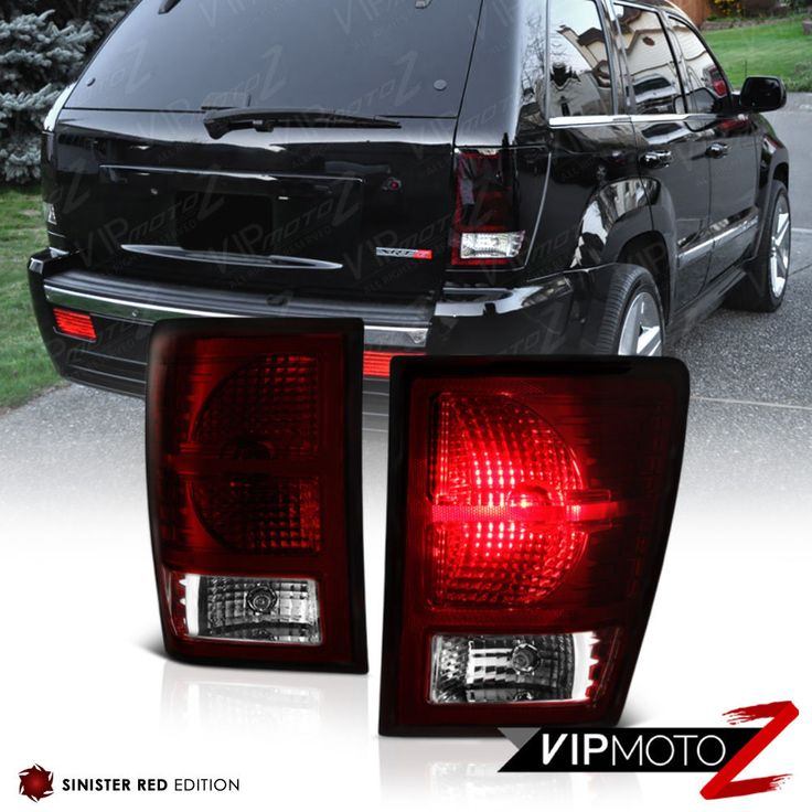 [DARK CHERRY RED] 2007-2008-2009-2010 Jeep Grand Cherokee Rear Tail Lights Lamps | eBay Motors, Parts & Accessories, Car & Truck Parts | eBay!
