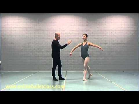 Ballet Lesson - Pirouettes - YouTube