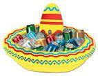 Let's Party With Balloons - Inflatable Sombrero Cooler, $43.00 (http://www.letspartywithballoons.com.au/inflatable-sombrero-cooler/)