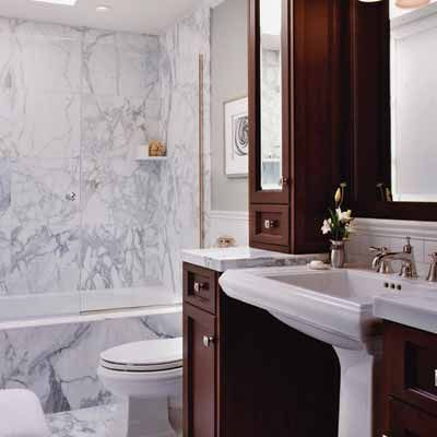 13 Big Ideas For Small Bathrooms