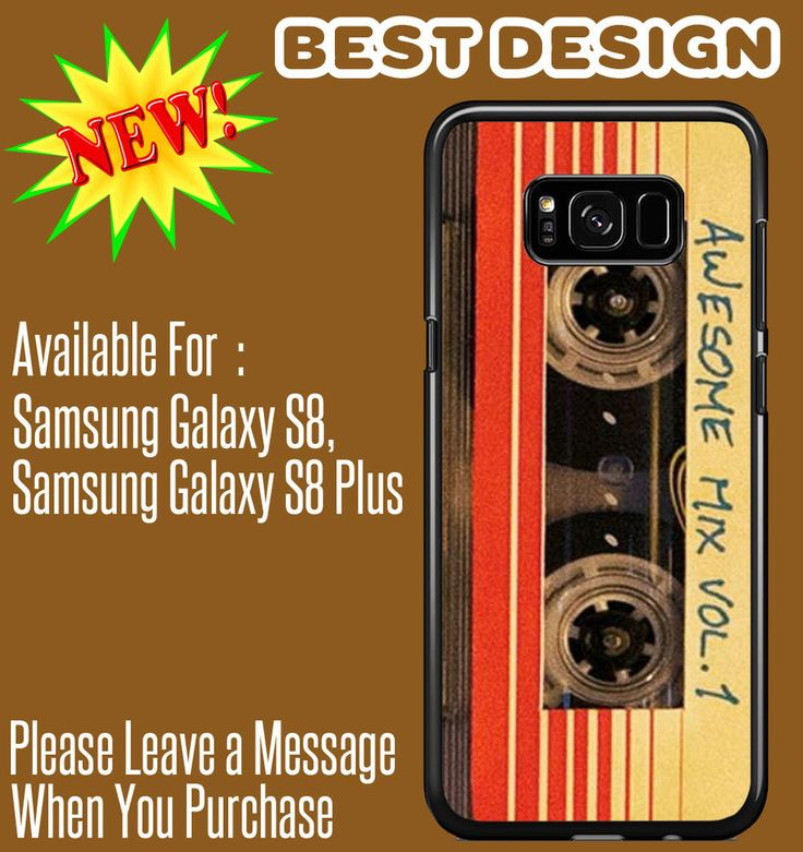 Guardians of the Galaxy - Awesome Mix For Samsung Galaxy S8/Galaxy S8 Plus Cases #UnbrandedGeneric