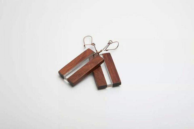 aronn#jewelry#art#design#earring#wood#plexi#aron nagybaczoni#