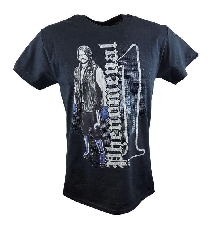 AJ Styles Phenomenal One Pose WWE Mens Black T-shirt - http://bestsellerlist.co.uk/aj-styles-phenomenal-one-pose-wwe-mens-black-t-shirt/