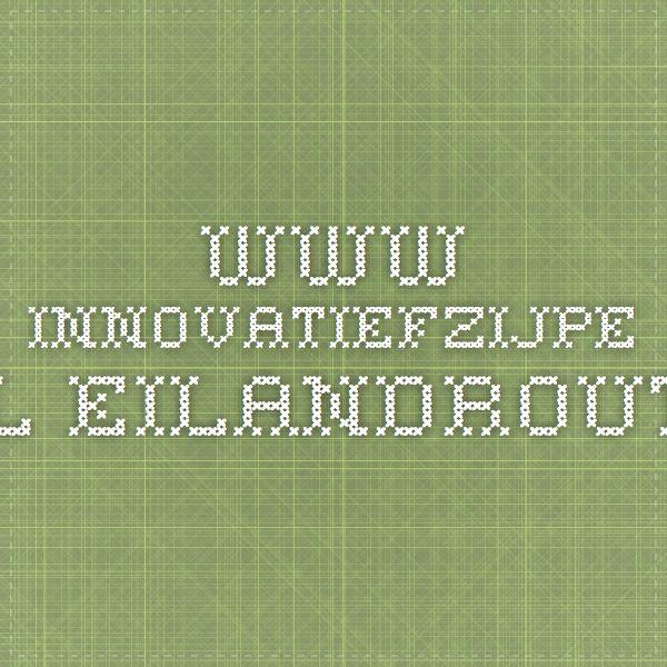 www.innovatiefzijpe.nl Eilandroute