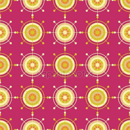 Boho этнической бесшовный паттерн с декоративной снежинки. Печатайте. Повторение фона. Дизайн ткани, Обои — стоковая иллюстрация #114460576