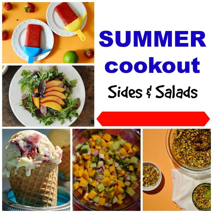 Fire up that grill! Its a summer cookout round up. Which of these sides would you like to make? #july4th