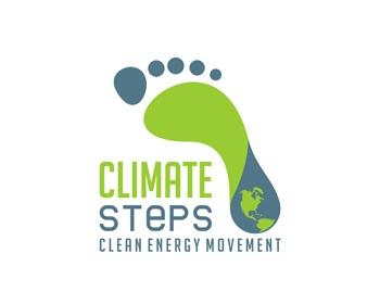climatesteps logo design