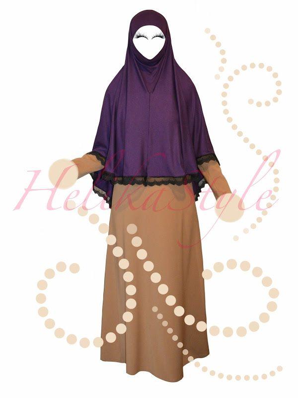 Iranian style al-Amira hijab sewing tutorial   HelikaStyle