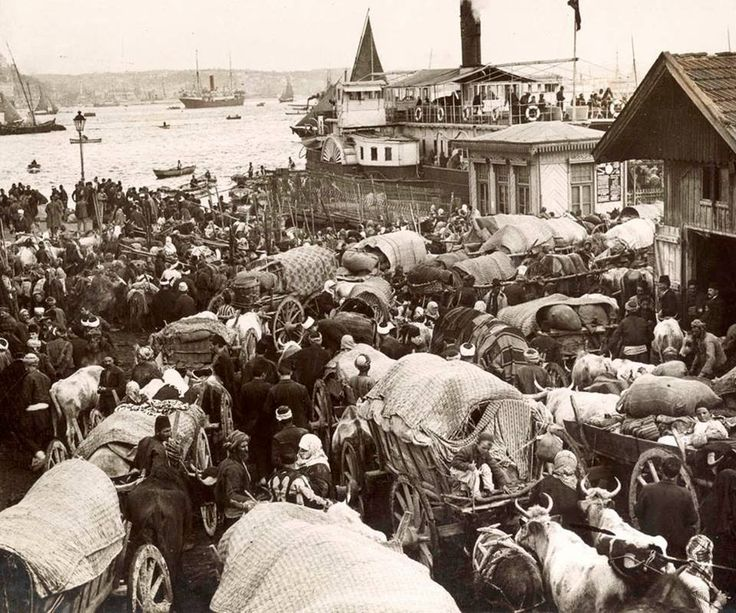 Ottoman Muslim refugees from the Balkans arriving in Istanbul. (1913/Balkan wars) [960  800] http://ift.tt/2fFtJxs