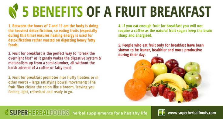 Benefits of a fruit breakfast posters pinterest