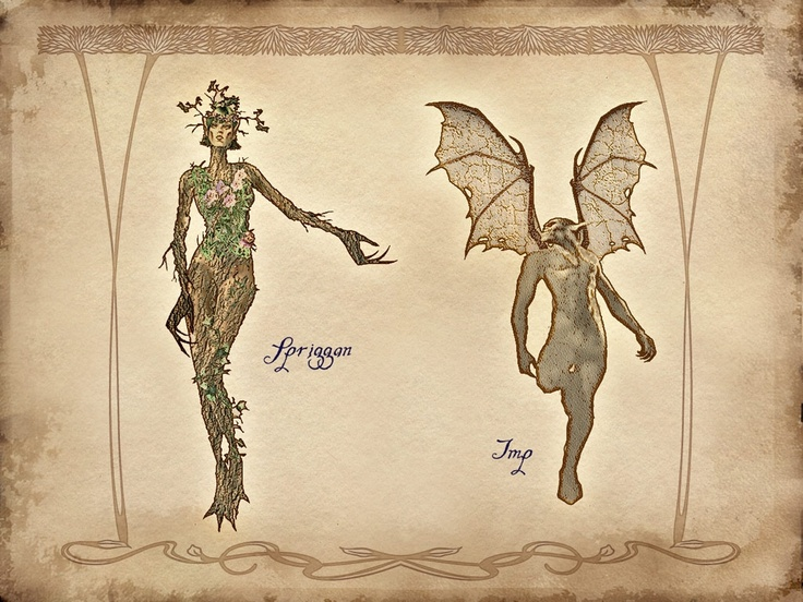 The Elder Scrolls Oblivion.Spriggan.Imp