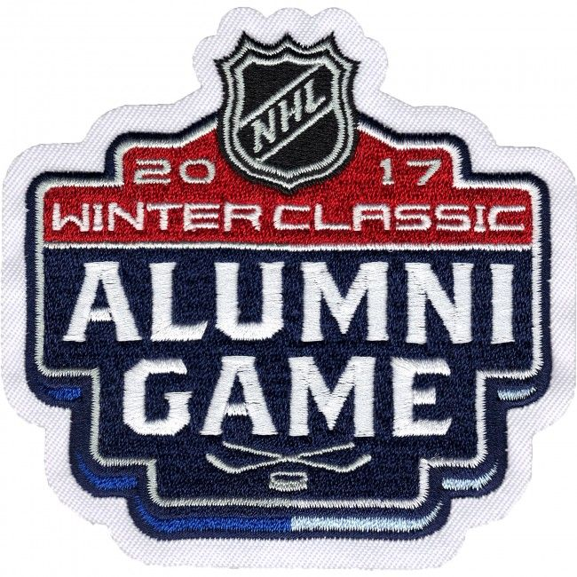 2017 NHL Winter Classic Alumni Jersey Patch St. Louis Blues Chicago Blackhawks