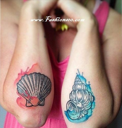 13 SHELL TATTOOS MAKE YOU Ponder Ocean LIFE
