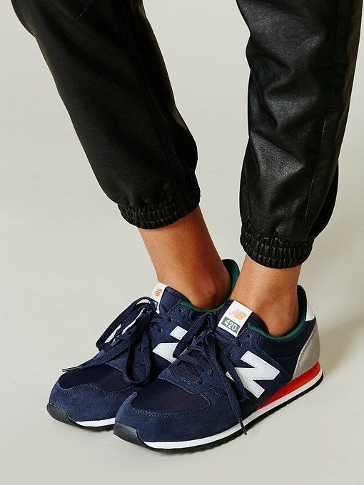 Classic Leather Runner by New Balance