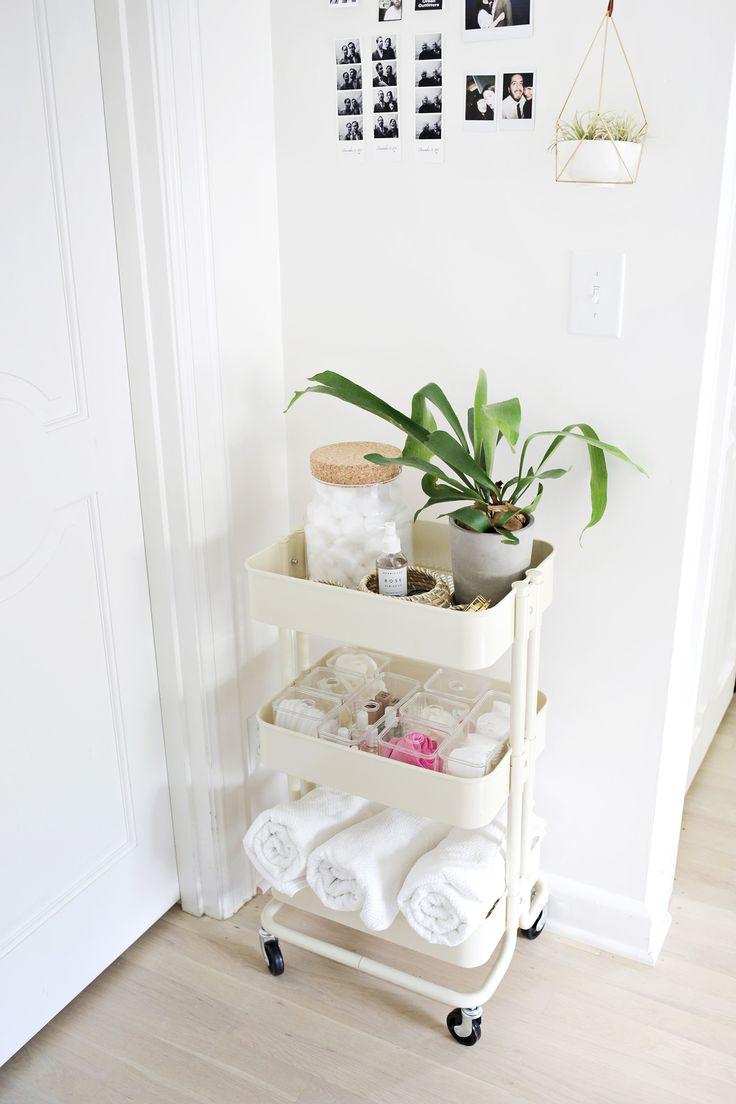 Best 25 Bathroom Cart Ideas On Pinterest  Bathroom Table Interesting Small Bathroom Cart Review