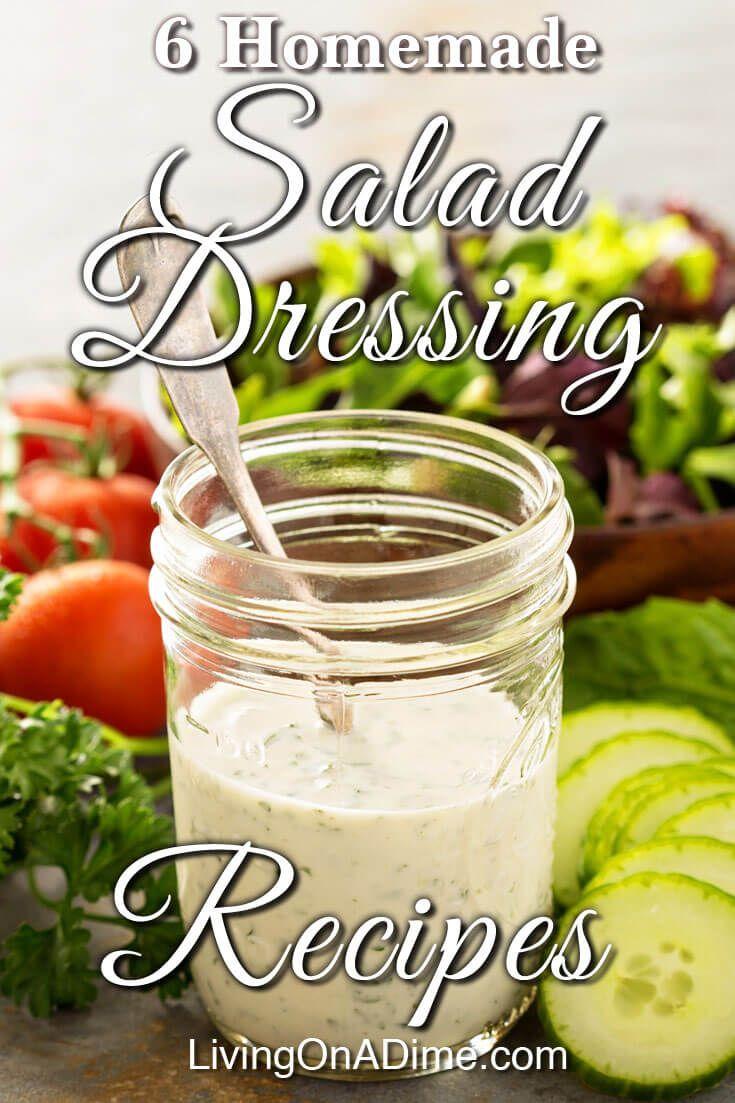homemade salad dressing recipes salad dressings pinterest rh pinterest com Healthy Salad Dressing Recipes Homemade Ranch Salad Dressing Recipes