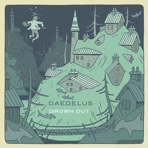"""""""[Drown Out] is [Daedelus'] first for the iconic L.A. label Anticon. It is also, happily, free of major missteps.""""  Read the full review here: http://potholesinmyblog.com/album-reviews-daedelus-drown-out/"""