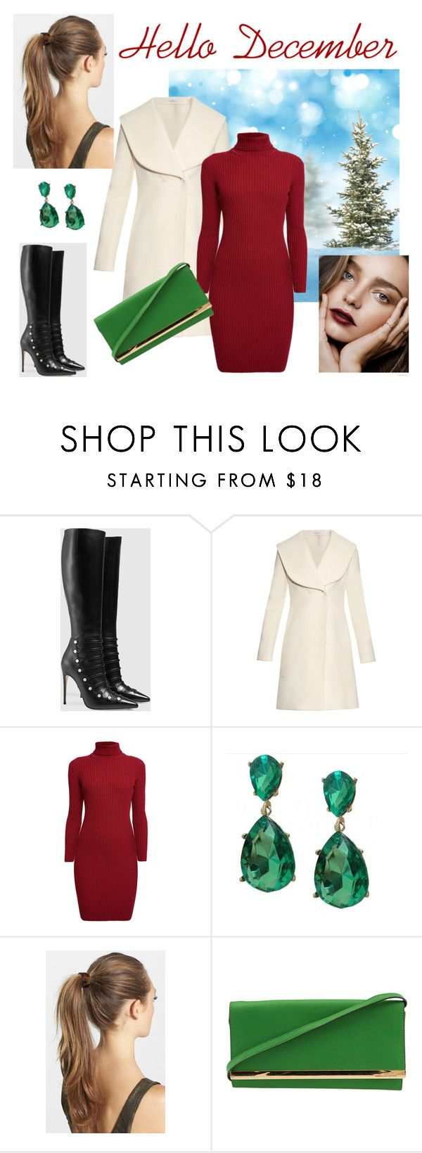 """""""Hello December"""" by vickycrawley ❤ liked on Polyvore featuring Gucci, J.W…"""