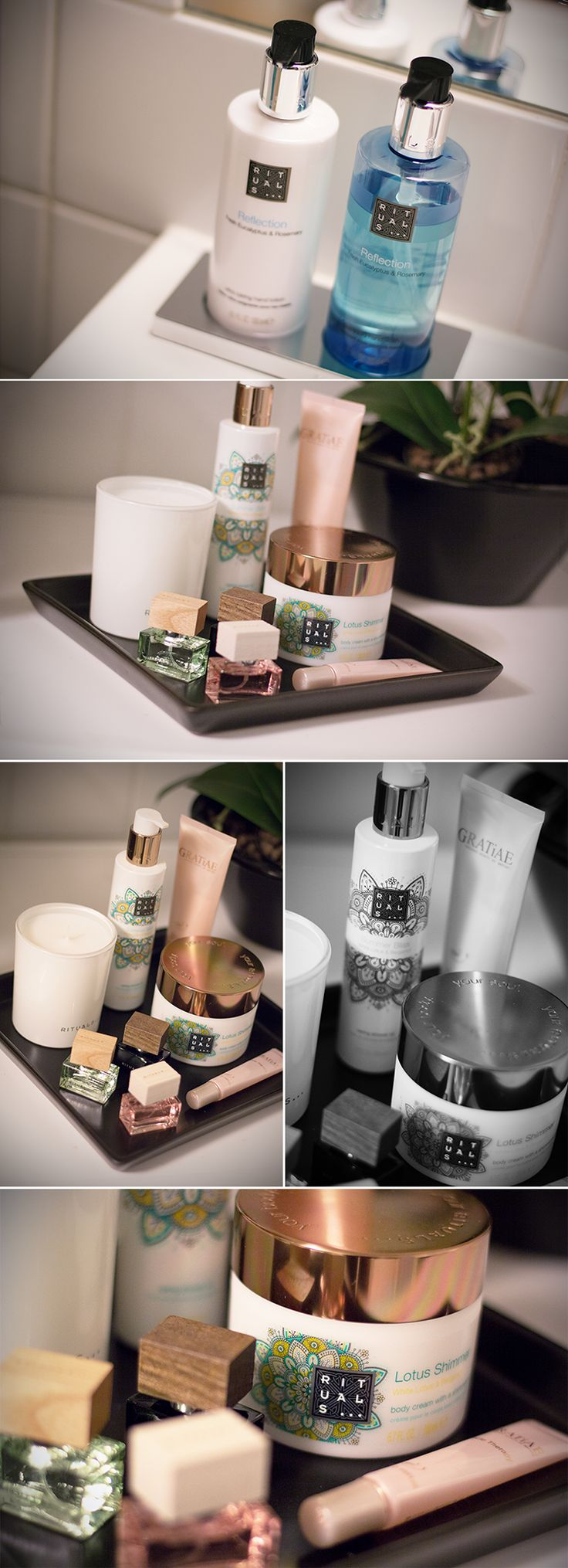 Badezimmer, Dekoration - Tablett - Rituals Cosmetics. Rituals. Skincare. Soap. Bathroom. Decoration.