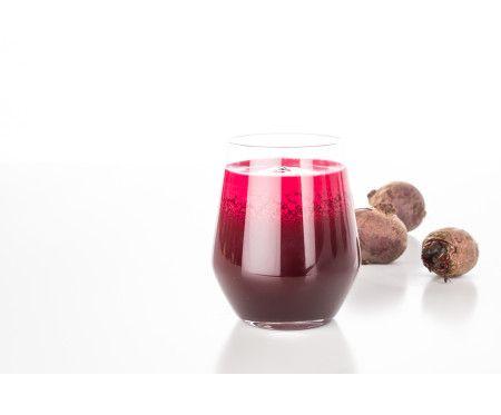 Färskpressad rödbetsjuice