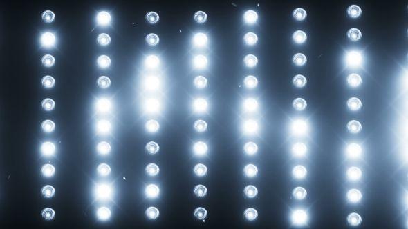 A Wall of Light Projectors, a Flash of Light