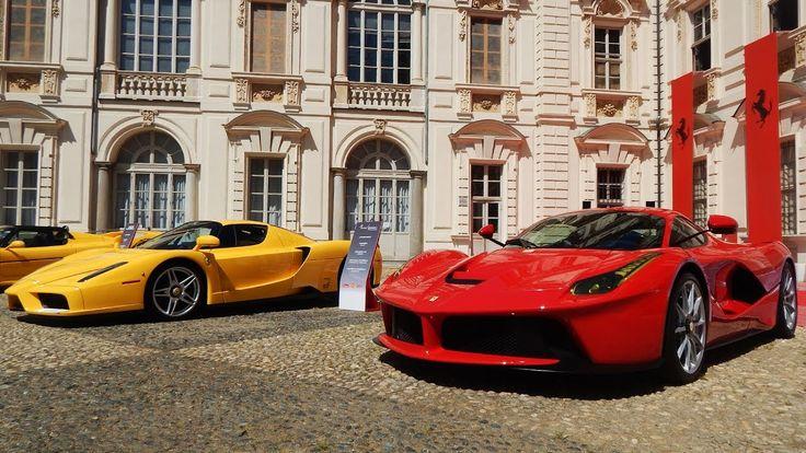 Salone del Valentino 2017: 70th Anniversary Ferrari -1: Laferrari, 599XX...