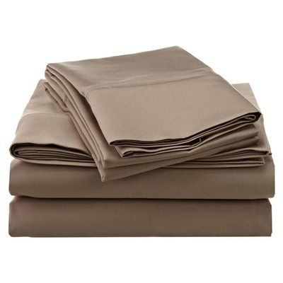 Darby Home Co 1200 Thread Count 100% Cotton Sheet Set