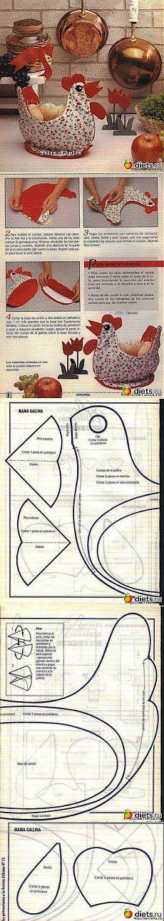курокорзинка для упаковки десанта зайцо-яйцов): Совместный пошив: Группы - diets.ru