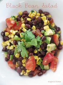 Migonis Home: Black Bean Salad