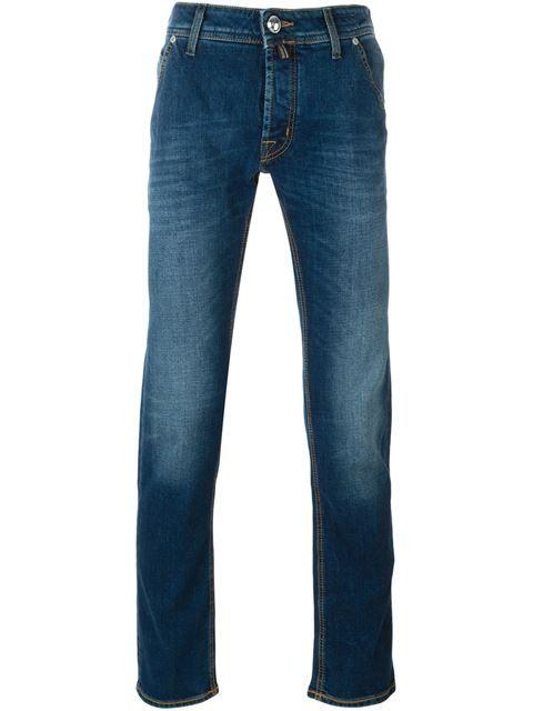 handkerchief detail jeans
