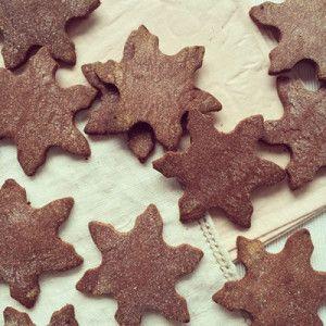 Biscuits fins à la noix de coco et au chocolat sans gluten