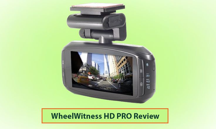 WheelWitness HD PRO Dash Cam with GPS - 2K Super HD - 170° Lens - 16GB microSD - Advanced Driver Assistance - For 12V Cars & Trucks - Night Vision Dashboard Camera Ambarella A7LA50 Car Security DVR  #dashcam #carcam #carcamera