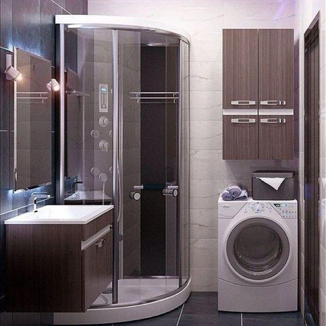 Компактная ванная комната. Как вам?✨ #ИнтерьерДекор_Санузел