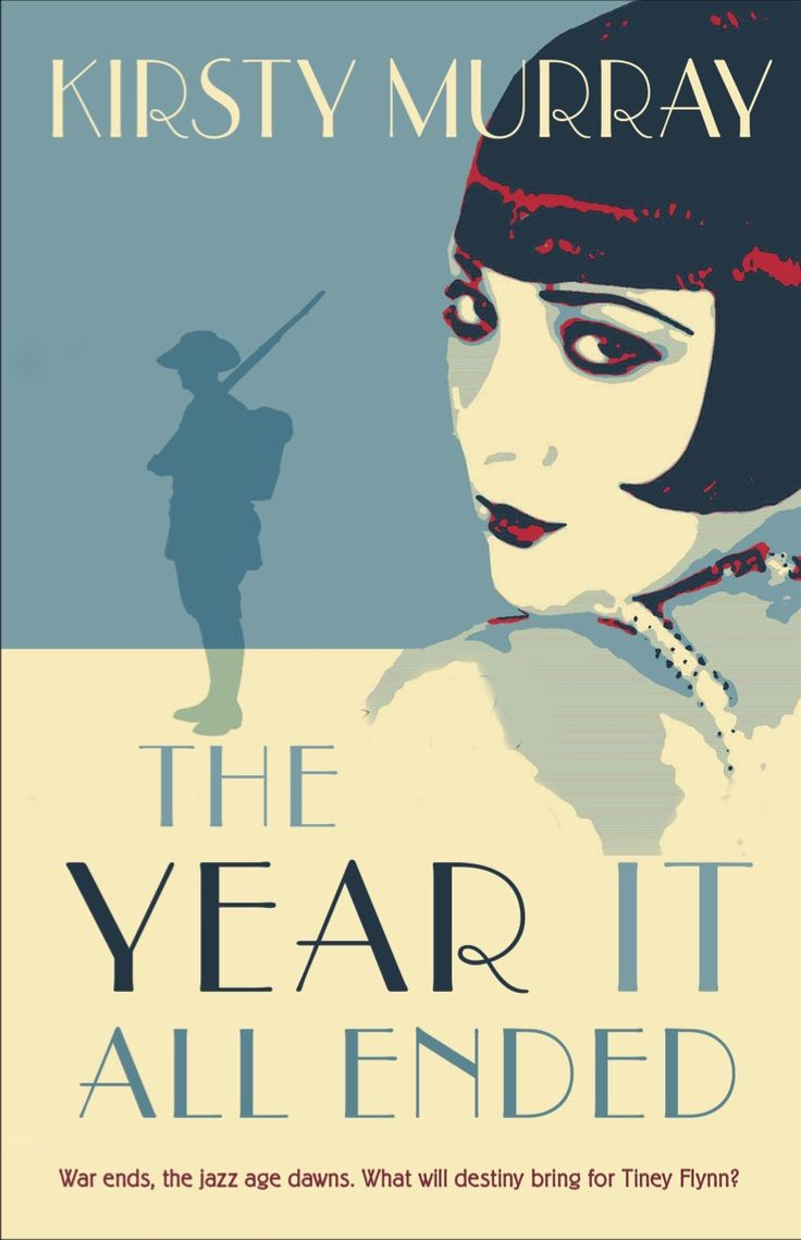 Cover of the 2014 release of The Year it All Ended by Kirsty Murray, published by Allen & Unwin, design by Ruth Gruener
